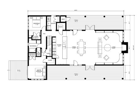 open floor plan farmhouse new modern farmhouse plans eye on design by dan gregory