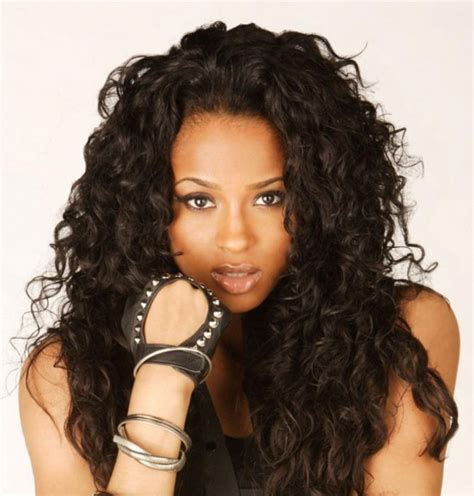 2014 african american long hairstyles for women invisible part curly weave hairstyles for african american women