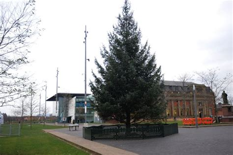 stockton christmas tree branded the worst in britain was