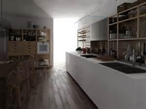 valcucine kitchen glass and wood fitted kitchen artematica vitrum