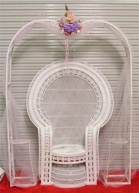 Baby Shower Wicker Chair by City Baby Shower Chair Rental