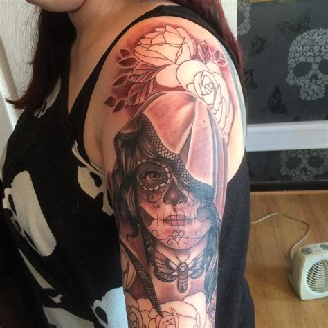 day of dead tattoo 90 best day of the dead tattoos designs meanings 2019