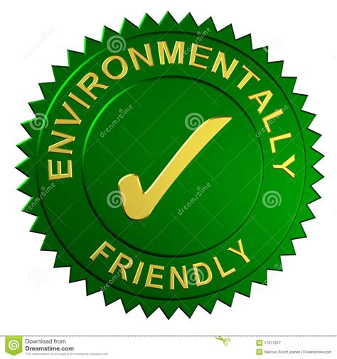 Ambiente Home Design Elements by Environmentally Friendly Seal Royalty Free Stock
