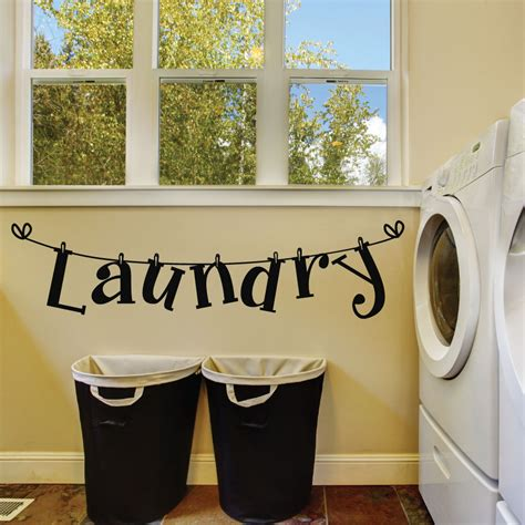 Wall Decor Laundry Room laundry room wall decals laundry room decals laundry