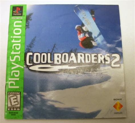Cool Boarders 2 Playstation 1 Instruction Manual Only