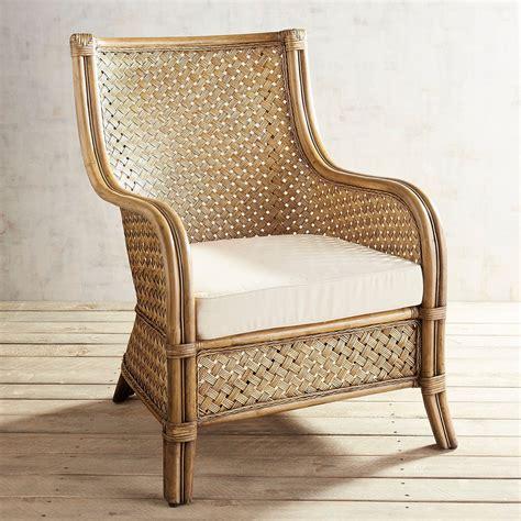 sakura wicker armchair pier imports