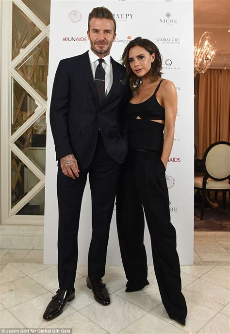 Beckham To Host Tv Show As Fashion Expert 2 by Beckham And Longoria Cut Chic Figures As They
