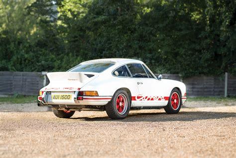 Porsche Carrera Rs by 1973 Porsche 911 Carrera Rs 2 7 Lightweight
