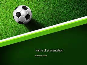 powerpoint templates soccer soccer near line presentation template for powerpoint