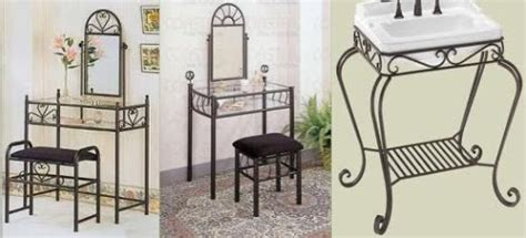 Wrought Iron Bedroom Vanity by Wrought Iron Vanity Wrought Iron Vanity Table Wrought Iron