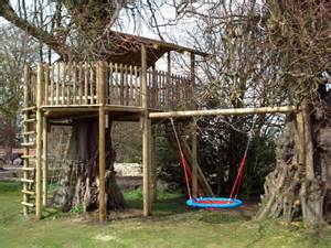 Backyard Slides For Sale by Tree Houses With A Deck Pictures