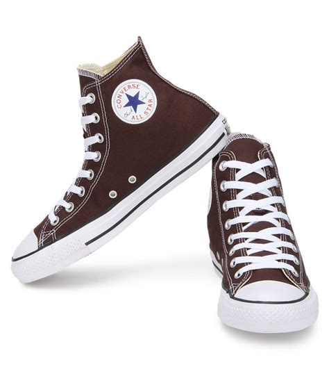 high ankle sneakers converse all 150772ccthi high ankle sneakers brown