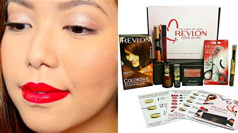 tutorial makeup revlon bdj box unboxing revlon makeup tutorial