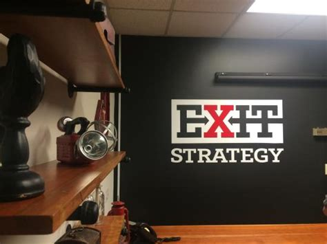 Strategy For Murder after murder mystery room picture of exit strategy