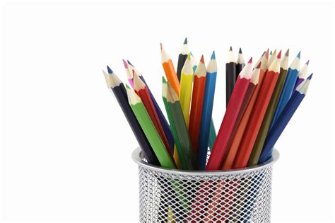 coloring with colored pencils colored pencils free stock photo domain pictures