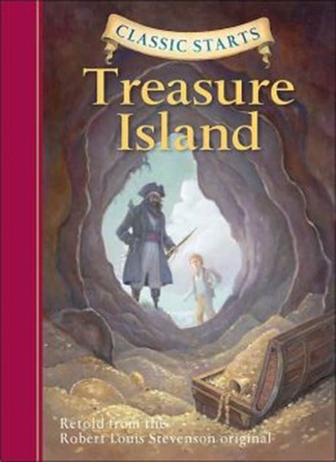 treasure island picture book treasure island classic starts series by robert louis