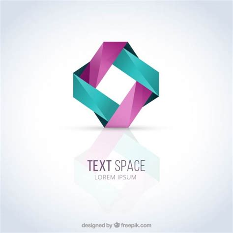 logo template abstract logo template vector premium