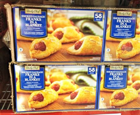 frozen hot dogs for pigs in a blanket hurry to your nearest sam s club this weekend for their