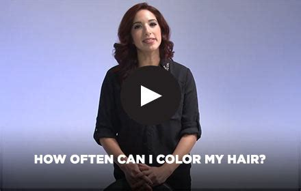 how often can i color my hair clariol professional gallery