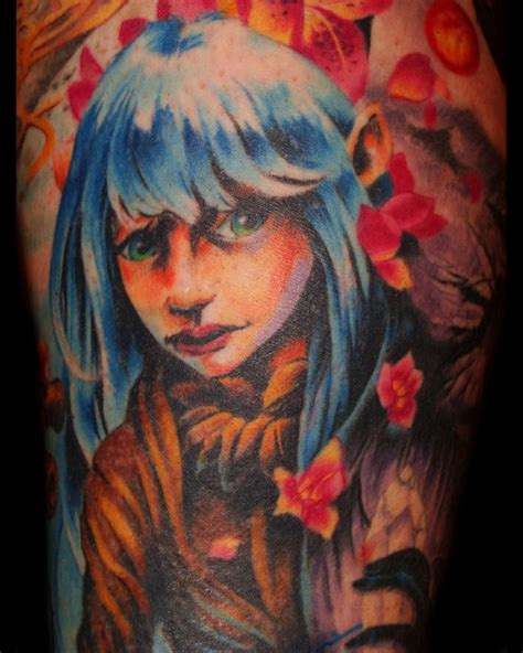 dark crystal tattoo by tom strom tattoos