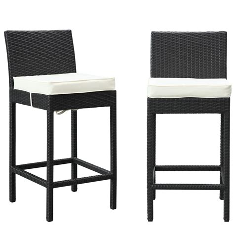 outdoor bar stool sets lift bar stool outdoor patio set of 2 manhattan home design