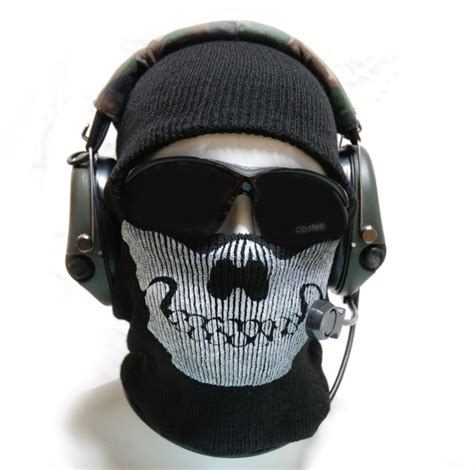Masker Buff Call Of Duty call of duty ghost cool mask black codmask00891 13 99 airsoft shop