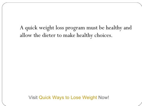 10 Easy Weight Loss You Must by Weight Loss Program Tips You Should Make Note Of