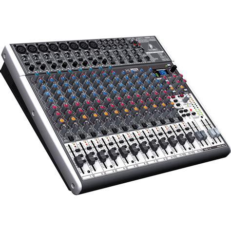 Mixer Audio Behringer Usb behringer xenyx x2222usb 22 input usb audio mixer