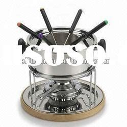 Pot Rumput Set 4 Pot X 1set stainless steel fondue forks stainless steel fondue forks