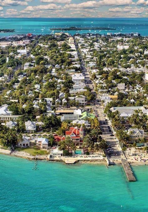 key west the and the new florida and the caribbean open books series books aerial view of duval st on key west runs from the