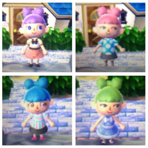 gracie hairstules new leaf animal crossing qr codes hairstyles rachael edwards