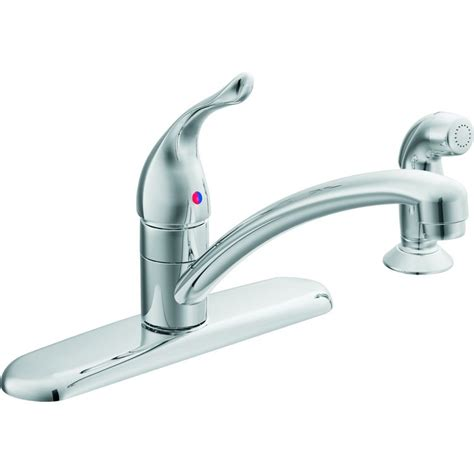 Moen Chateau Kitchen Faucet by Moen 67430 Chateau Series Single Handle Kitchen Faucet