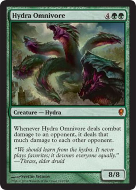 Hydra Top Salem By Riamiranda hydra omnivore x1 magic the gathering 1x conspiracy mtg