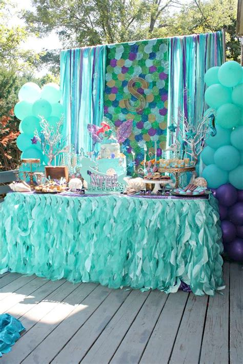 themes party birthday mermaids ariel pirates birthday party ideas pirate