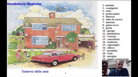 la della casa lezione 37 vocabolario la casa