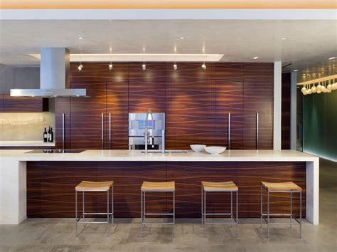 zebra wood cabinets kitchen contemporary pleasing wood veneer wallpaper with minimal