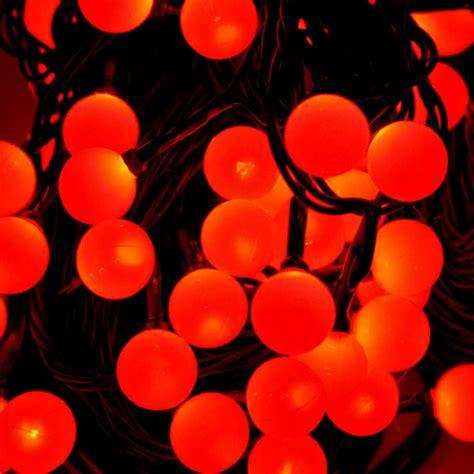 Cherry Berry Red White Led Ball Shape Fairy String Lights Berries Lights