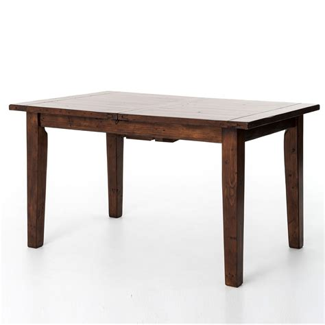 coastal rustic small extending dining table zin home