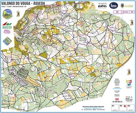 distance maps portuguese orienteering wmtboc 2016 middle distance
