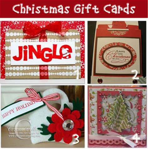 christmas gift card tags and money holder ideas tip junkie