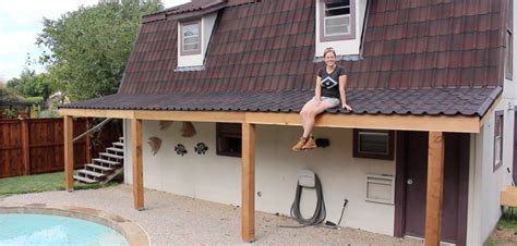 building a covered porch how to build a roof patio cover icamblog