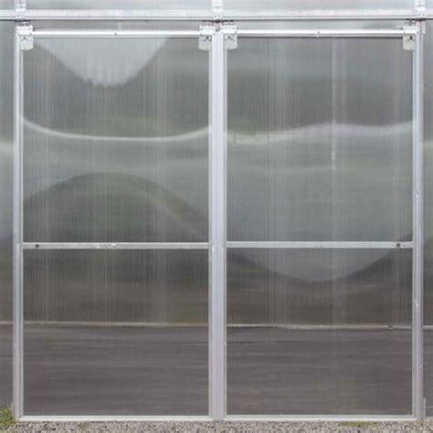 green house door sliding greenhouse door farmtek