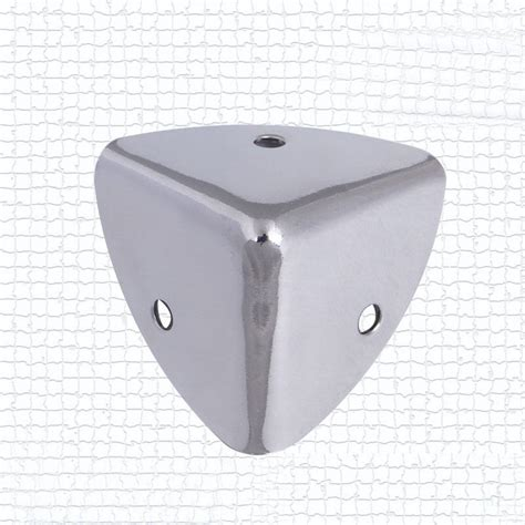 speaker cabinet corner protectors 4pcs 35mm silver speaker case box cabinet corner leg