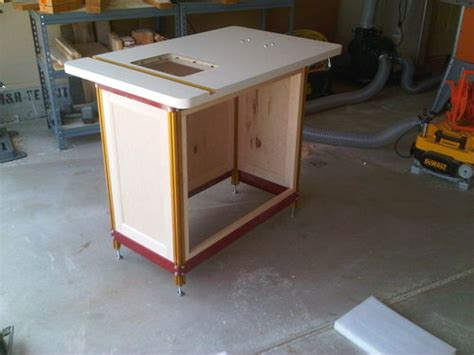 incra cabinet 3 router table by lance lumberjocks