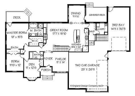 superb home plans 4 ranch style house floor plan design