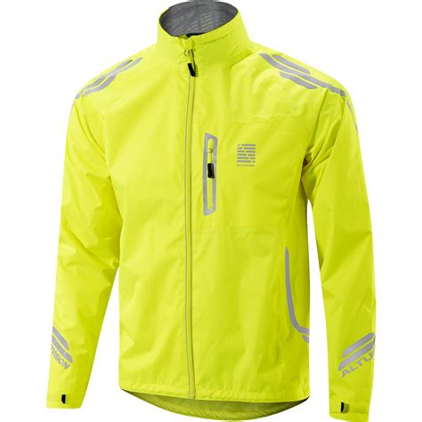yellow waterproof cycling jacket wiggle altura night vision waterproof jacket cycling