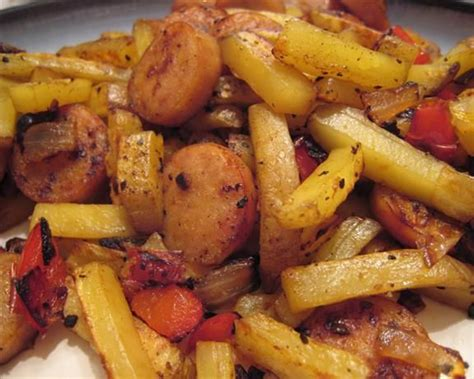 dogs and fries and fries hash with variations recipe