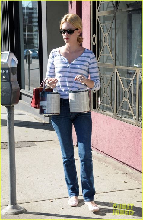 january jones steps out after mad premiere date news