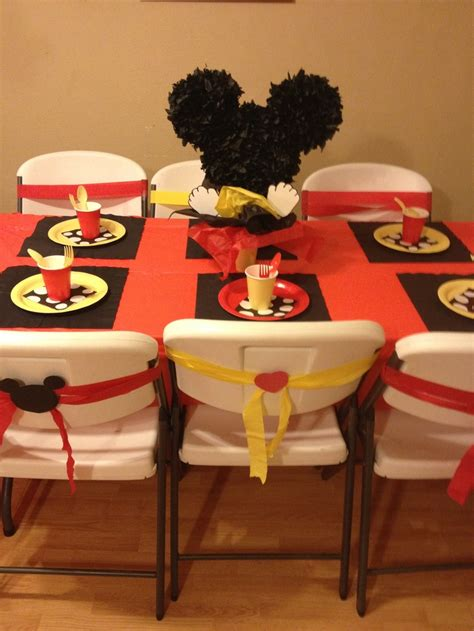 Mickey Mouse Table Decorations by Mickey Mouse Table Decorations Gamble Cruze