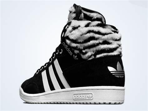 zebra pattern adidas adidas originals pro conference hi w quot zebra quot sneakernews com
